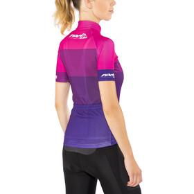 Red Cycling Products Colorblock Race Koszulka kolarska, krótki rękaw Kobiety różowy/fioletowy